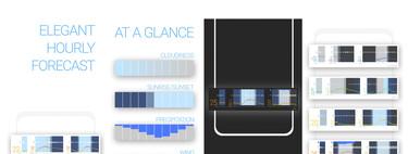 Glance Weather: toda la información posible sobre el tiempo comprimida en un solo widget
