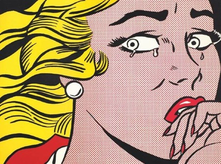 Roy Lichtenstein en el Centro Pompidou de París