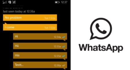 WhatsApp para Windows Phone también estrena el doble ticket azul para mensajes leídos