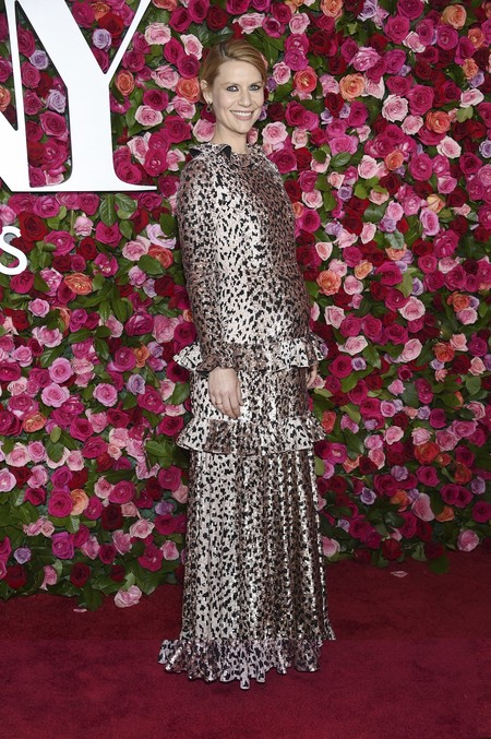alfombra roja tony awards Claire Danes