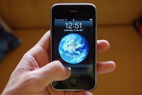 Así era utilizar un iPhone hace diez años en España