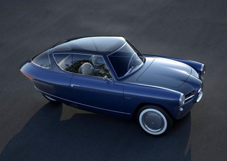 """Nobe 100, el precioso """"coche"""" eléctrico de tres ruedas con alma retro que busca enamorar al mundo"""