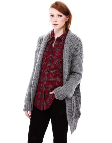 Claves de moda para ir de shopping: cárdigans de punto para completar el look