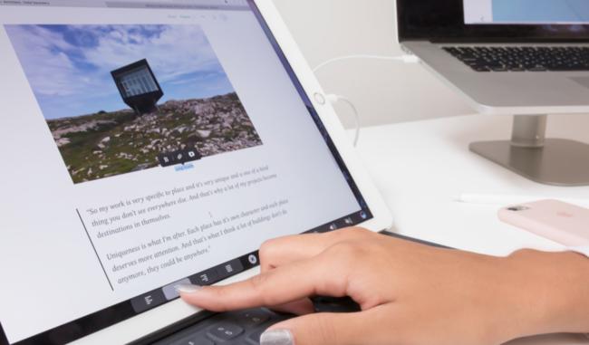 Duet Display para iPad se actualiza para ser compatible con la Touch Bar de los MacBook Pro