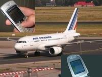 Usar el teléfono móvil en el avión
