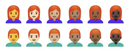 Emoji Redheads Android P Beta Emojipedia