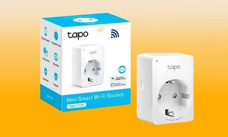 El enchufe inteligente TP-Link Tapo P100 te permite encender a distancia tus dispositivos y controlar tu consumo eléctrico y vuelve a costar menos de 10 euros en Amazon
