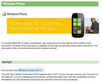 Windows Phone 7.5 será el nombre oficial de Mango