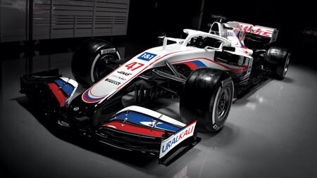 Los americanos se visten de rusos: Este es el Haas VF-21 con el que Mick Schumacher debutará en la Fórmula 1