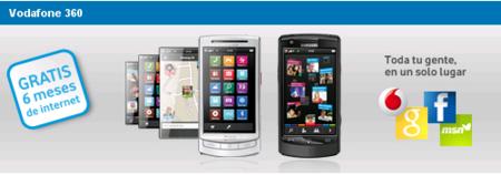 Internet en el móvil plus gratis 6 meses con los Vodafone 360 H1 y M1