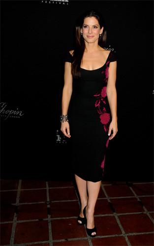 Sandra Bullock en el Festival de Cine de Santa Bárbara