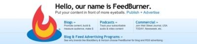 FeedBurner y Measure Map migrarán a las cuentas de Google con importantes mejoras