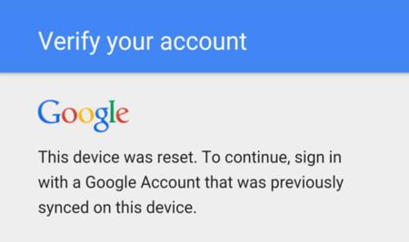 Google corrigió el fallo de la protección del reinicio de fábrica en sus Nexus con el parche de enero