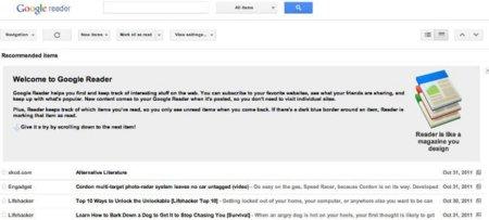 Buen trigo, buena harina, mal pan: Google Reader y el adiós del lector de feeds como negocio