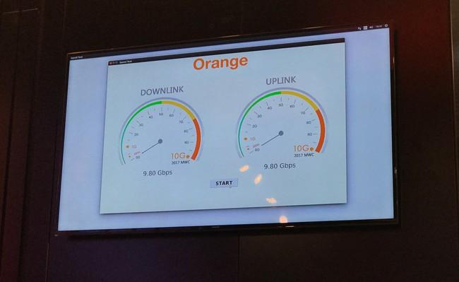 El Gigabit LTE y la fibra a 10 Gbps ya no son ficción, Orange nos los ha enseñado en el MWC