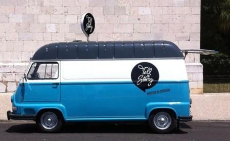 Tell a Story Book Van, una vieja furgoneta convertida en librería móvil