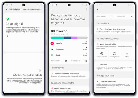 Samsung Galaxy S10 Lite S10 Software Salud Digital