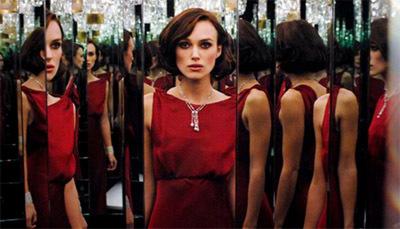 Keira Knightley en el Coco Mademoiselle film