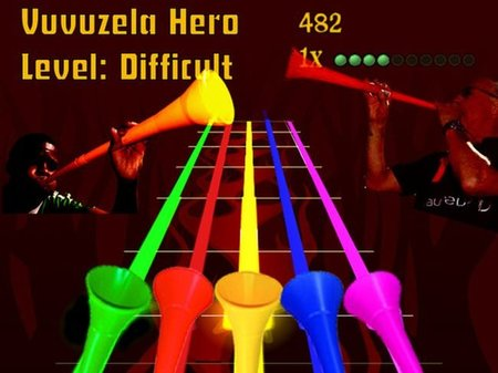 Imagen de la semana: Vuvuzela Hero