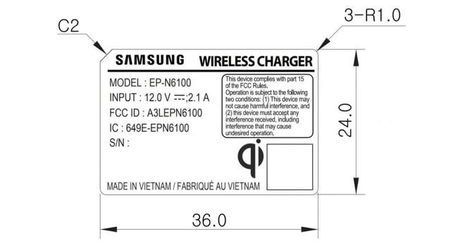 Nuevo Cargador Samsung™ Galaxy™ Note 9
