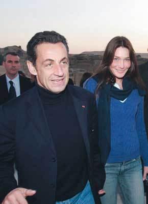 Efectivamente, Carla Bruni es la nueva Primera Dama francesa