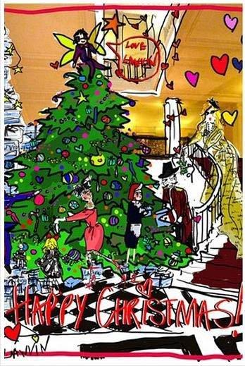 Lanvin nos felicita la Navidad