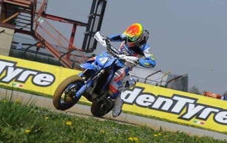 Thomas Chareyre: triplete en la primera prueba del Campeonato del Mundo de Supermotard 2011