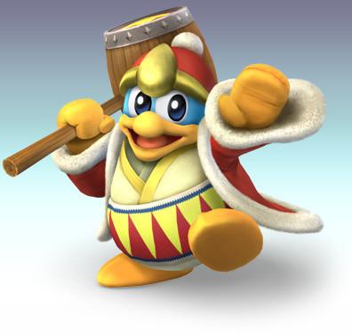 Otro luchador para 'Super Smash Bros. Brawl': Rey Dedede