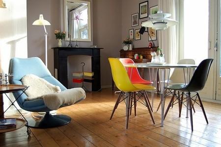 Los ambientes que más nos han gustado decorados con la clásica silla Vitra Eames