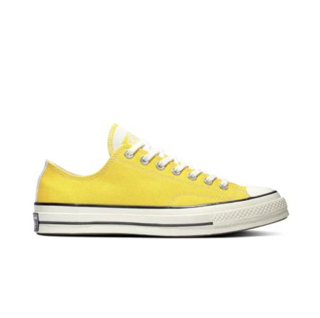 Zapatillas de lona de mujer Converse Chuck Taylor 70's amarillas