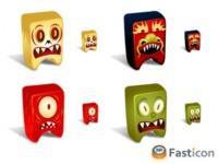 Creatures Vol.3, nuevos iconos en Fasticon