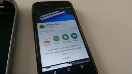 Chrome Beta para Android ahora te indica si ya has descargado el archivo