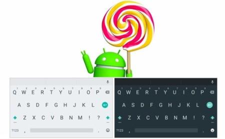 Ya puedes usar el teclado de Android 5.0 Lollipop en tu smartphone