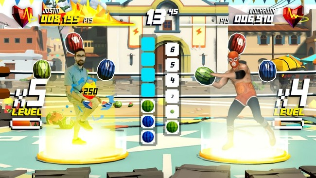 Su Screen Luchador Challenge Kneeupsplash Gc