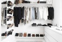 Los básicos de un vestidor perfectamente ordenado y con encanto