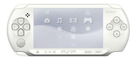Sony presenta la PSP-E1000 Ice White, de blanco inmaculado