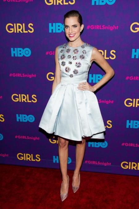 Allison Williams premiere 3 temporada Girls