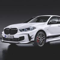 Así luce el BMW Serie 1 2019 con sus accesorios M Performance, disponibles desde el lanzamiento