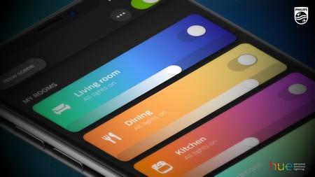 Philips lanza una gran actualización de su app para bombillas Hue más intuitiva y rápida