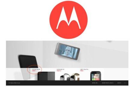 Motorola Xoom 2 filtrada en el rediseño de la página oficial
