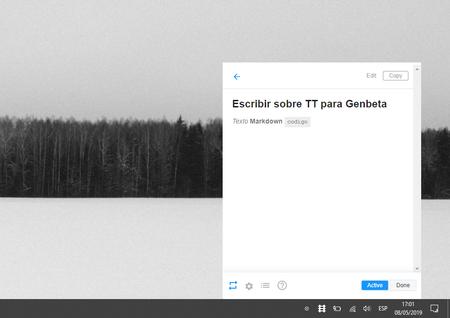 App Notas Escritorio Windows Mac