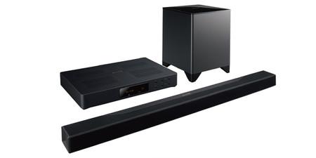 Pioneer también tiene barra sonido Dolby Atmos, es la Elite FS-EB70 y viene con corrección acústica MCACC