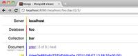 Mongs: accediendo por web a nuestra base de datos MongoDB