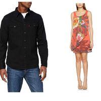 Chollos en tallas sueltas de sudaderas, camisas y vestidos de marcas como Desigual, Levi's o Dickies en Amazon
