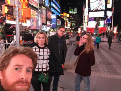 Tres estrellas de la televisión y el cine de los 90 juntas en un selfie, la imagen de la semana