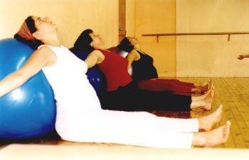 Esferodinamia, gimnasia con pelotas inflables