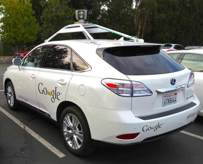 Google S Lexus Rx 450h Self Driving Car