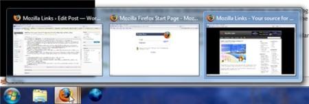 Aero Peek en Firefox