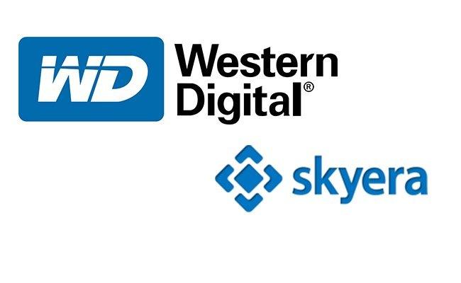 WD Skyera logos