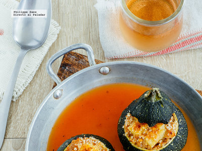 Calabacín relleno de atún: receta fácil de primavera